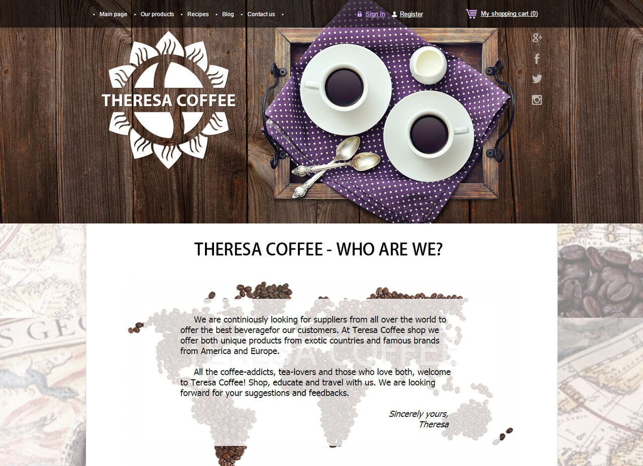 theresacoffee.com